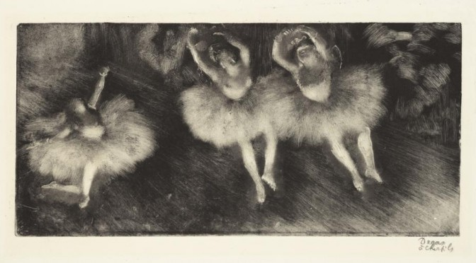 MoMA Edgar Degas : A Strange New Beauty, les monotypes de Degas