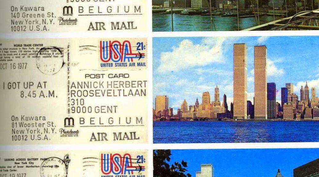 Cartes postales, 1977