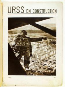 Revue URSS en construction, première page du n°9, 1931
