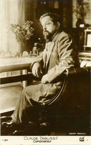 Henri Manuel, Portrait de Claude Debussy, 1901
